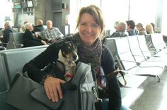 Natividad smiling & chilling in the airport with Soraya, waiting to go to his new adoptive family in Holland.