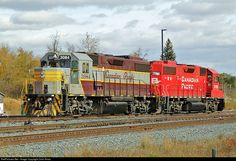 RailPictures.Net Photo: CP 3084 Canadian Pacific Railway EMD GP38-2 at Scotford, Alberta, Canada by Colin Arnot