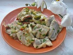 Śledzie w oleju inaczej34 Potato Salad, Salmon, Seafood, Dips, Recipies, Menu, Potatoes, Ethnic Recipes, Sea Food