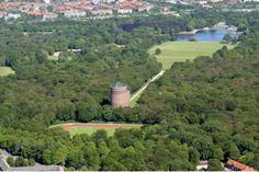 Hamburg, Stadtpark mit Planetarium