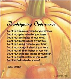 thanksgiving poems for kids christian | Thanksgiving poems 5