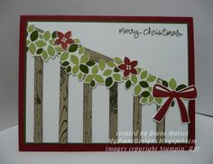 Wondrous Garland by Diane Malcor - Cards and Paper Crafts at Splitcoaststampers