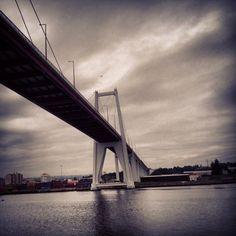 Ponte Edgar Cardoso, Figueira da Foz, Portugal Edgar Cardoso's bridge, Figueira da Foz, Portugal
