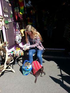 On da market, Camden town..
