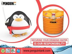 In #Penguin, we always ensure fresh and cool water inside the tank, and resist dust, insects, rodents to enter your tank. At your rooftop, we are always fighting to secure hygienic drinking #water for your loving family. #PenguinTank