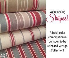 Vertigo Fabric Collection - #jffabrics Interior Design Home Decor #stripes