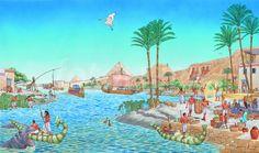 Egypte, kleuters