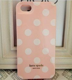 Kate Spade iPhone 5 Resin Hard Case (Pink with White Dots) by Kate Spade, http://www.amazon.com/dp/B00BR42BQO/ref=cm_sw_r_pi_dp_IyvHrb1AG6BFA
