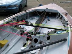 Flying Dutchman Deck Layout #howtobuildasailboat