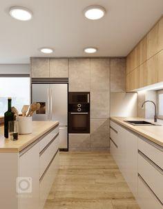 Modern Kitchen Interiors, Modern Kitchen Cabinets, Modern Kitchen Design, Interior Design Kitchen, Small Modern Kitchens, Best Kitchen Designs, Kitchen Pantry Design, Kitchen Layout, Kitchen Decor