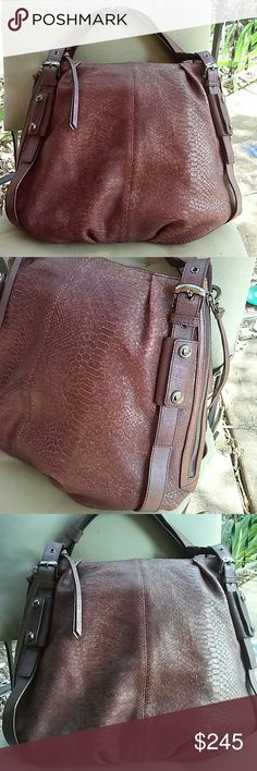 Michele authentic snake print bag High grade leather, like new,comes with dust bag Michele Bags