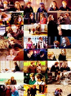 Ron & Hermione Through the Years