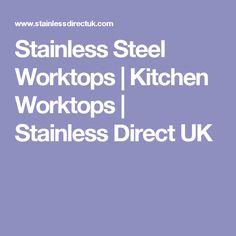 Stainless Steel Worktops   Kitchen Worktops   Stainless Direct UK