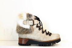 Boots Lacet fourrure MANAS | 162M2202