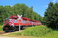 Wisconsin & Southern Railroad #1  Summer view of Wisconsin &Southern Raiload locomotives #4030, 4078, 4053 WSOR