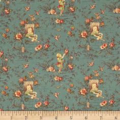 Desired Things Floral Garden Blue Item Number: 0278431 Our Price: $5.98 per YD
