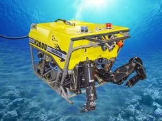 An ROV, or remotely operated underwater vehicle, is a tethered underwater vehicle.The tether connecting the ROV to the boat transmits data from the ROV to the scientists.