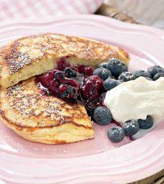 Amerikkalaiset pannukakut - American pancakes