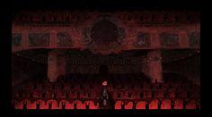 Image result for coraline theatre scene