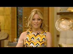 Elizabeth Banks talks 'The Hunger Games: Mockingjay – Part 2' on Live! with Kelly and Michael - YouTube