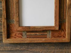 8x10 barn wood picture frame by RedWorksLLC on Etsy