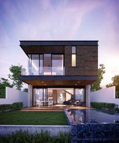 House in Puerto Cancun, Mexico Design: EZC (www.ezc.mx)