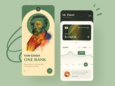 Van Gogh. One Bank — Online Banking by Shahin Azimov 🚀 on Dribbble