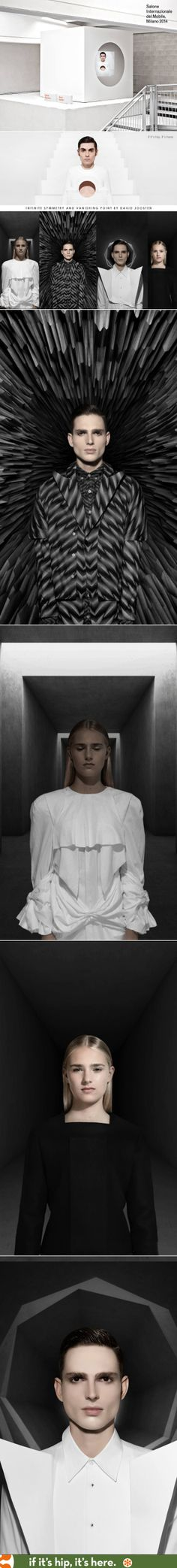 A series of animated portraits and a video that explore the relationship between symmetry and beauty by artist David Joosten.