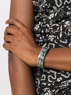 Isabel Marant floral cuff bracelet