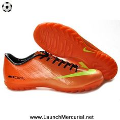 59b53d5e44b4 2014 Nike Mercurial Vapor IX TF Orange Yellow Soccer Cleats Mens Soccer  Cleats