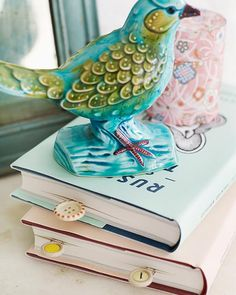 Sweet Paul's #DIY Vintage Button Bookmarks