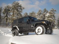 Why Jeeps Are the Ultimate Ski Vehicle: Ground Clearance