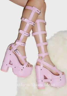ca29852a471 Baby Nightcall Hi Platform Heels cuz ya one badazz bondage bbgirl. These  sexy strappy platforms will make yer sweet S