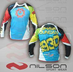 Jersey nilson sublimacion fullcolor manga larga motocross t 07cc4a84f6f