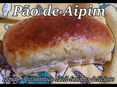 Como fazer um Pão de Aipim Rápido,Fácil,Econômico e Delicioso!!