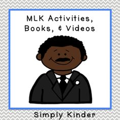 FREEBIE: Martin Luther King Day Activities - from Simply Kinder. simpli kinder, free reader, martin luther, luther king