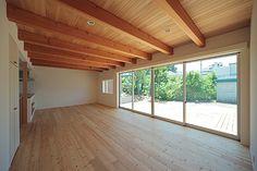 おおらかな家 | WORKS | こぢこぢ | ARCHITECTURAL DESIGN STUDIO Windows, Architecture, Interior, House, Ideas, Blue Prints, Arquitetura, Indoor, Home