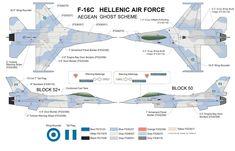 F-16C GREEK GHOST