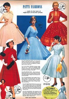 Junior Fashion, 60 Fashion, Retro Fashion, Fashion Design, Latex Fashion, Vintage Style Dresses, 50s Dresses, Vintage Outfits, Vintage Fashion 1950s