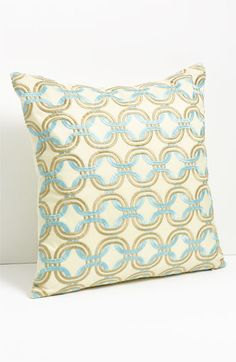 Nordstrom Chain Embroidered Pillow