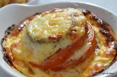 Receta de Milhojas de berenjena, tomate y mozzarella | Eureka Recetas