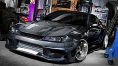 Nissan Silvia S15 JDM Carbon | http://hellpapers.com/wallpapers/view/1334