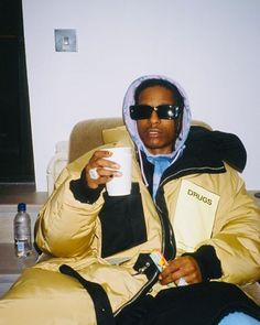 asap rocky and tyler the creator ; Neo Grunge, Grunge Style, Soft Grunge, Tokyo Street Fashion, Fashion 90s, Fashion Killa, Fashion Outfits, Bedroom Wall Collage, Photo Wall Collage