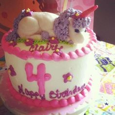 CakeSide - Unicorn cake submitted by Arlene Mott on www.cakeside.com!