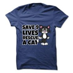 SAVE 9 LIVES, RESCUE A CAT