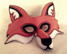Fox Mask PDF Pattern by oxeyedaisey on Etsy :: http://www.etsy.com/shop/oxeyedaisey