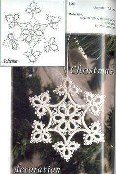 Best 12 Crochet snowflakes, free crochet patterns – SkillOfKing.Com