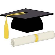 Graduation Clip Art, Graduation Cards Handmade, Graduation Theme, Graduation Gifts, Graduation Ideas, Silhouette Cameo Files, Silhouette Cameo Projects, Silhouette Design, Silhouette Online Store