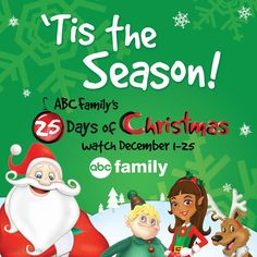 ABC Family 25 Days Of Christmas 2013 Schedule