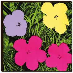 Flowers, Andy Warhol, circa 1965